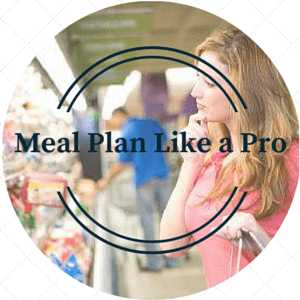 The Wonder Woman meets Suze Orman version of Meal Planning