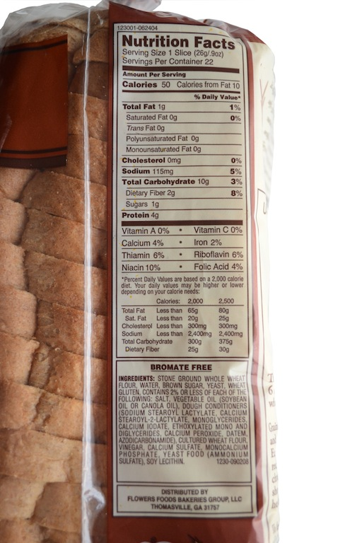Ingredients In Nature S Own Bread